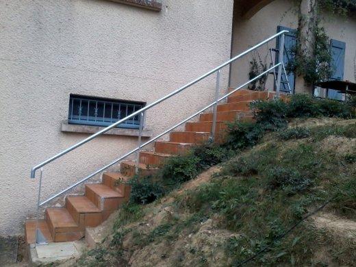 Monter Une Rampe DEscalier Extrieure  JpatouCom